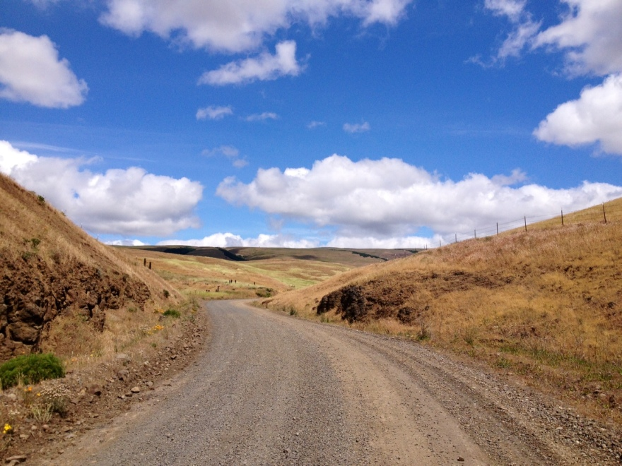 Gravel exploration. The Dalles Oregon