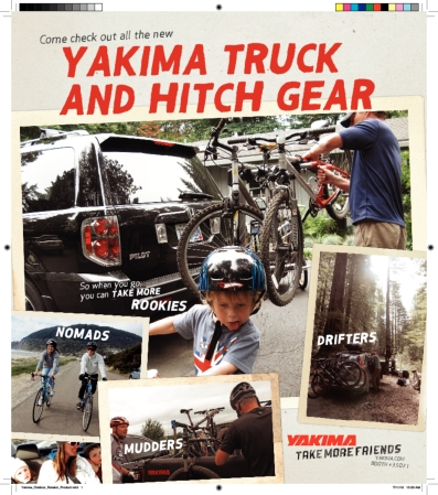 Yakima Print Ad example Hitch products