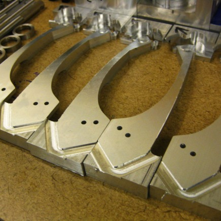Machined levers for Yakima