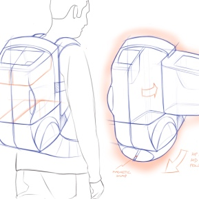 Backpack concept