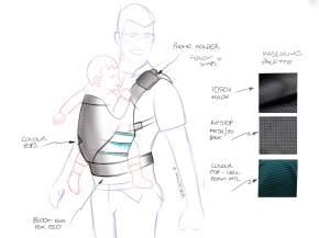 Concept for baby carrier
